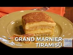 """""""Tiramisu"""" roughly translates into """"little pick me up"""" and this Grand Marnier® Tiramisu will definitely do that! Because it is flavored with orange, it feels. Sweets Cake, Cupcake Cakes, Cupcakes, Cooking Videos, Food Videos, Lemoncello Tiramisu, Blue Jean Chef, Candied Orange Peel, Mascarpone Cheese"""
