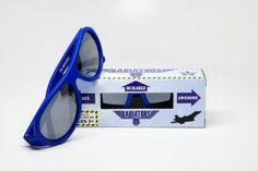 Babiators - okulary dla dzieci, gniotsa nie łamiotsa  #aviator #topgun #durable #niezniszczalne #okulary