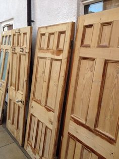 Old Victorian doors | Leicester Leicestershire | Gumtree & Reclaimed victorian doors stripped and sanded. | Sherwood ...