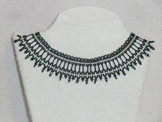 Mira este artículo en mi tienda de Etsy: https://www.etsy.com/es/listing/226857818/collar-gargantilla-rocalla-y-facetadas