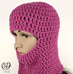 Free Crochet Pattern Ski Mask Face Free (6 months to adult)