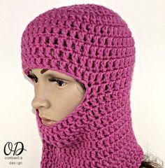 Grátis Crochet Pattern máscara de esqui cara livre