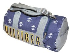 Tommy Hilfiger Mini Logo Duffle Bag #WomenGymBags