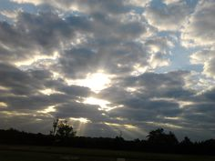 My pic of a Sunrise on my early morning walk in Lithonia, GA.