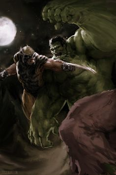 Hulk 181 - Homage Cover, Tyler Breon on ArtStation at https://www.artstation.com/artwork/hulk-181-homage-cover