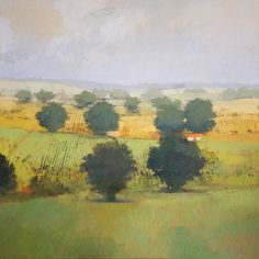 Balmer : Paul Balmer Oil on Canvas Abstract Canvas, Oil Painting On Canvas, Abstract Landscape, Landscape Paintings, Seascape Art, Watercolor Artwork, Watercolour, Tree Art, Impressionism