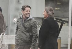 "Robert Carlyle and Sean MAguire - Behind the scenes - 5 * 12 ""Souls of the Departed"" - 4 November 2015"