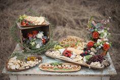 Autumn Mint Wedding refreshments