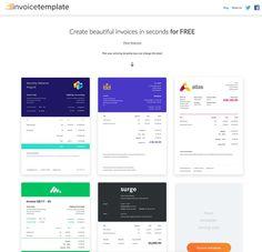Invoice Template : générez gratuitement de belles factures en quelques clics