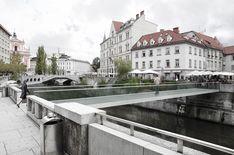 Footbridge in Ljubljana / Arhitektura d.o.o.