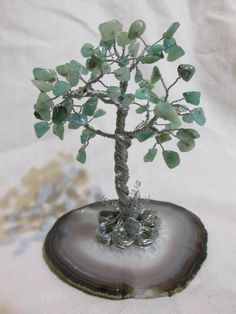 Free Giveaway: Aventurine Gem Tree   Enter Here: http://www.giveawaytab.com/mob.php?pageid=167440383358606