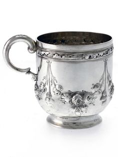 A Charming Baluster Shape Victorian Silver Child's Mug | 452071 | Sellingantiques.co.uk