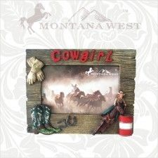 "The Rustic Shop - Montana West Rustic Cowgirl and Rodeo Theme 4 x 6"" Photo Picture Frame, $19.99 (http://www.therusticshop.com/montana-west-rustic-cowgirl-and-rodeo-theme-4-x-6-photo-picture-frame/)"