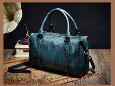 100% Top Cowhide Genuine Leather Women Handbag