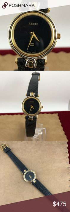 9ce97dd5dc1 Vintage Exquisite Ladies Gucci 2 Tone Vatch Vintage Exquisite Ladies Gucci  2 Tone Watch18K yellow gold