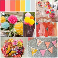 Color Schemes...list one you love, and one you don't! :  wedding colors decor reception ColorPalette