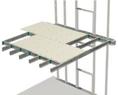 Entrepiso. Son los elementos rígidos que hay entre un piso y otro, comúnmente placas o lozas.