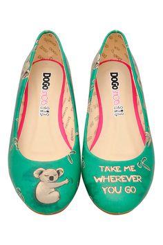 Vente Dogo / 17684 / Chaussures / Ballerines / Ballerines Turquoise