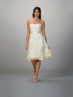 SOOO THE RECEPTION PARTY DRESS!
