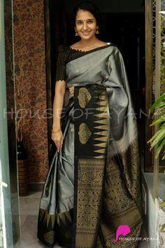 Blouse Styles, Blouse Designs, Tie Up Dress, Silk Sarees With Price, Saree Blouse Patterns, Saree Trends, Black Saree, Weekly Outfits, Saree Look