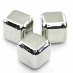 Color Plata - Silver!!! Ice Cubes