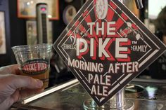 Pike Brewing's Morning After Pale. Photos by Kendall Jones, Washington Beer Blog