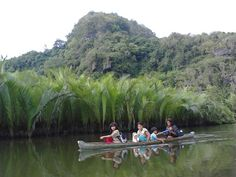Peoples in ramang~ramang use this `sampan` to reach another place #south sulawesi