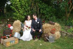 Reportage {Blandine & Grégoire} Notre mariage petit budget