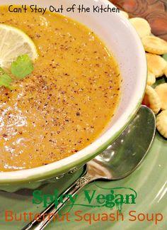 Spicy Vegan Butternut Squash Soup - Recipe Pix 15 051