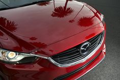 The #KODO inspired front end of the 2014 #Mazda6.