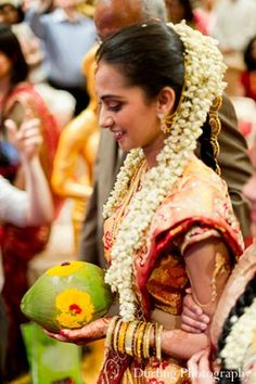 indian wedding ceremony bride aisle http://maharaniweddings.com/gallery/photo/11755