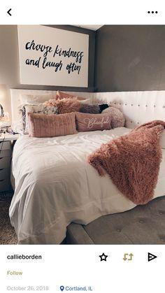 Teen Room Decors - Just another WordPress site Cute Bedroom Ideas, Cute Room Decor, Teen Room Decor, Room Ideas Bedroom, Home Bedroom, Bedroom Decor, Bedrooms, Bedroom Inspo, Quirky Bedroom