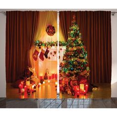 This 2 Panels Curtain set is printed on 100% woven polyester construction for maximum strength. Exclusive design, Made in Turkey using the highest-grade ink and state of the art equipment to ensure vibrant colors and lasting durability.<br/>