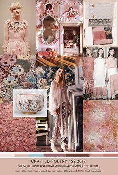 TrendSenses Moodboard Crafted Poetry SS17 - TrendSenses.com