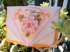 Valita's Designs & Fresh Folds: Folded Card Front / video tutorial