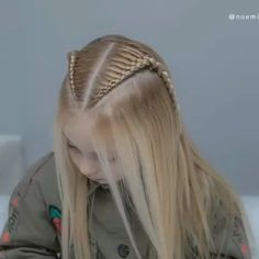 Lace Braids Tutorial is part of Hair styles - Box Braids Hairstyles, Cool Hairstyles, Braid Styles, Short Hair Styles, Braids For Long Hair, Braids Wig, Braids For Girls, Braid Bangs, Little Girl Hairstyles