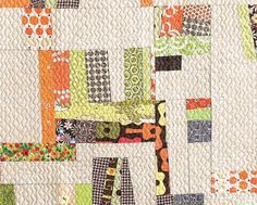 """This is the kind of quilt I would make if I were a quilter.  Cloth.Paper.Scissors Today """"Quilting Modern"""""""