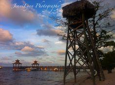Sunset in Rose Hall, Jamaica.  #photography, #travel, #Jamaica, #sunset, #beach