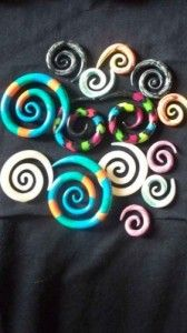 How to make your own clay ear gauges