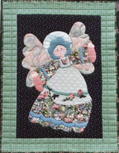 """Angelight ~ My first Angel design. 3 sizes - x and an x fairy size """"Angels are the guardians of hope and wonder, the keepers of magic and dreams"""" Applique Quilt Patterns, Lighthouse, Appreciation, Angels, Fairy, Magic, Dreams, Fun, Design"""
