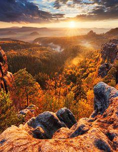 """Bohemian Switzerland"" (North Bohemia), Czechia #visitczechia #landscape #nature #Czechia"