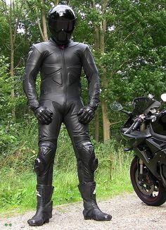 Male Leather, Chaps & Harness Fun