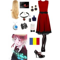 Hetalia: Daughter of Romania by ender1027 on Polyvore