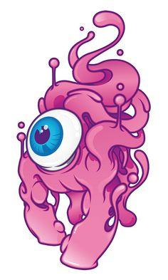 The Eye/Pink Monster  by Aleix Gordo Hostau by Aleix Gordo Hostau, via Flickr