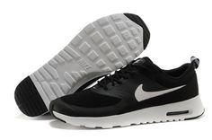bc8e551ec4d Nike Women Air Max Thea Black White Running Shoes by Alyssa Ventura
