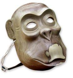 "Hand Carved Mask Wood Sculpture Original Art ""Cheeky Monkey' NOVICA Bali in Home & Garden, Home Décor, Masks | eBay"