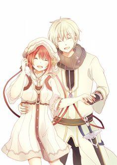 Shirayuki y Zen // Akagami no Shirayukihime-Snow White with the Red Hair