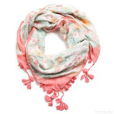 Stitch Fix Style | This Just In: Surrey Paisley Square Scarf