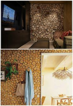 20+ Art DIY Rustic Log Decorating Ideas for Home and Garden | Architecture & Interior Design