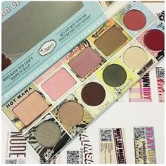 The Balm Sneak Peek Holidays 2015 In The  Balm Of Your Hand Palette